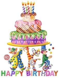 BD 005 Birthday Clowns