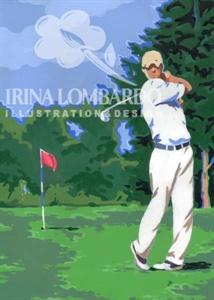 BD 023 Golfer