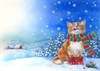 CH 002 Christmas Cat