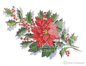 CH 018 Poinsettia