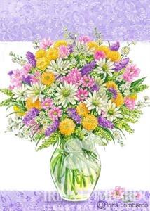 SP 003 Spring Bouquet in Vase