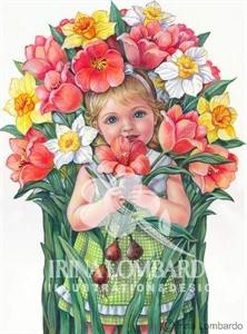 SP 001 Bouquet Girl