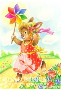 BD 022 Birthday Bunny