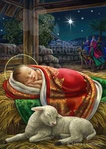 CH 063 Baby Jesus Ornate