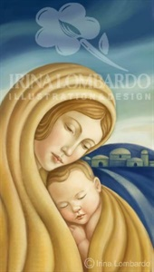 CH 040 Madonna and Child in Gold