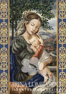 CH 024 Madonna and Child Florentine Style