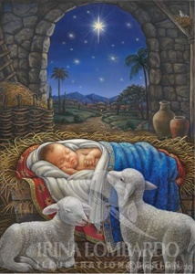 CH 050 Baby Jesus in Manger
