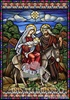 CH 012 Stain Glass Flight into Egypt