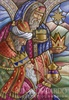 CH 025 Three Wise Men in Stain Glass