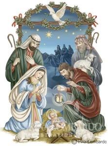 CH 020 Nativity with Dove