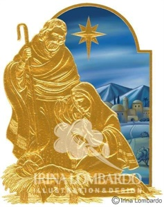 CH 026 Holy Family in Gold