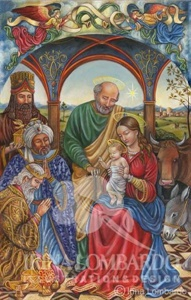 CH 017 Renaissance Style Nativity