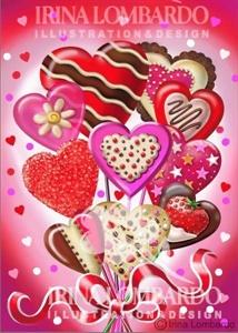 VD 002 Heart Bouquet