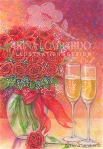 VD 001 Champaign and Roses