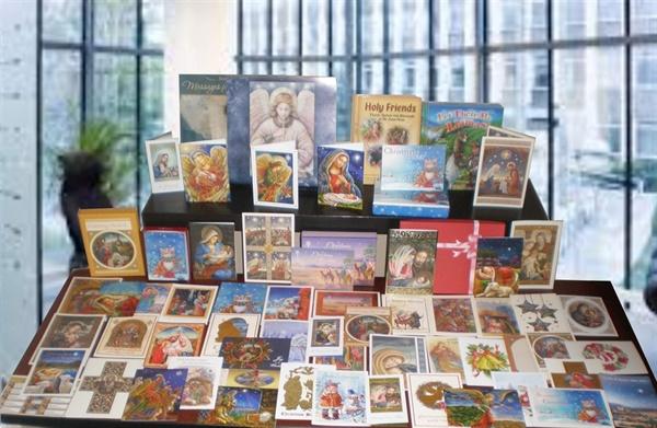 Christmas Greeting Cards  Display