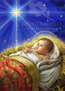 CH 071 Baby Jesus with Star