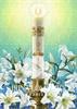 EA 014 Glowing Paschal Candle
