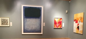 Pollack, Rothko, OKeeffe, .....and Martha Braun!