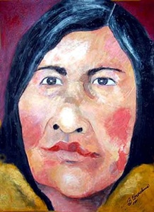 Faces: Paintings and Mixed Media