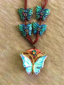 Butterfly Babies Necklace
