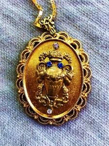 Urn Necklace Pendant