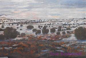 """""""Enchanted Landscape"""" (detail)"""