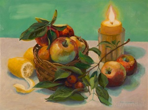 """Apples and Candle"""