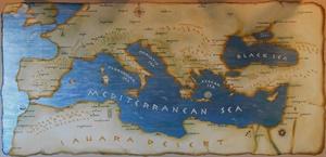 """""""Mediterranean Map"""""""