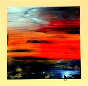 'Good Evening World'     (SOLD)