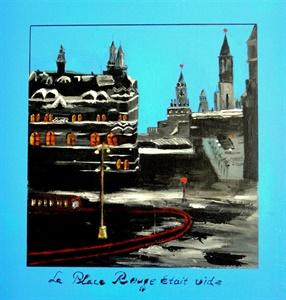 'La Place Rouge etait vide'