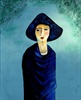 The Lady with the Blue Hat (SOLD)