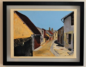 A little Street in the Sun (2018) SOLD