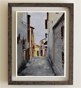 A little Street in the Morvan  SOLD
