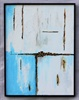 Composition with Blue and White-1 04- 2021   SOLD