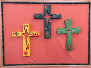 Crosses with Cut-Outs