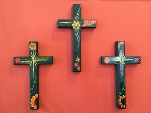 Dark Green Cross