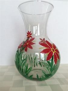 Poinsettia Vase