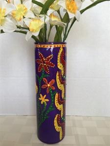 Purple Glass Vase #2