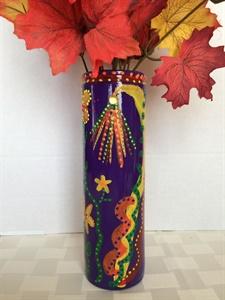 Purple Glass Vase #3
