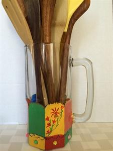 Large Glass Mug