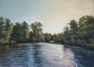 The River At Dusk