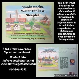 Book - Smokestacks, Water Tanks & Steeples