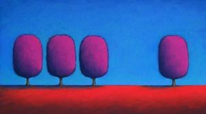 The Red Violet Loner