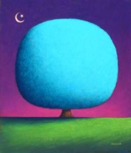 Happy Turquoise Tree