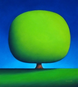 Happy Green Tree