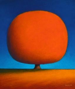 Happy Orange Tree