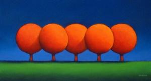 The Orange Trees